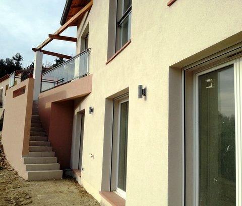 Construction maison individuelle nice castagniers alpes for Procedure construction maison individuelle